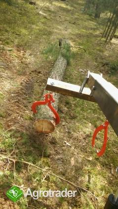 Chwytak samozaciskowy do drewna kleszcze szczypce do drewna drzewa - zdjęcie 2