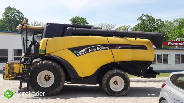 Kombajn zbożowy New Holland CX 860 - zdjęcie 2