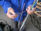 Maszyna do recyklingu i odizolowywania kabli