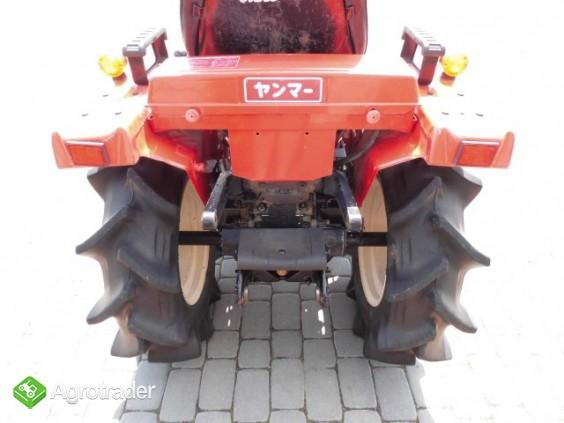 Yanmar F14 super stan mini traktor kubota iseki mitsubishi  - zdjęcie 4