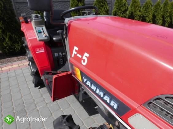 Yanmar F-5 4x4 super stan kubota iseki mini traktor - zdjęcie 5