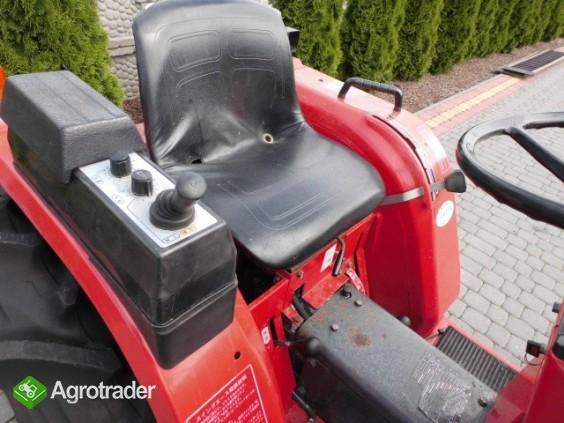 Shibaura P17 4x4 17 PS ładowacz czołowy TUR mini traktor - zdjęcie 7