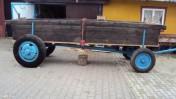 Srzedam wóz dwuosiowy do ciągnika