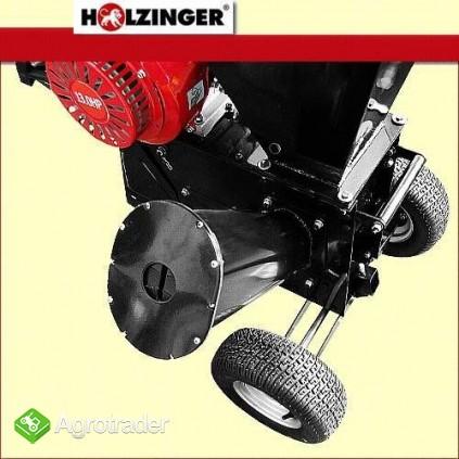 Rębak rozdrabniacz HOLZINGER napędzany silnikiem 13KM, 1 nóż - zdjęcie 2