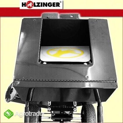 Rębak rozdrabniacz HOLZINGER napędzany silnikiem 13KM, 1 nóż - zdjęcie 3