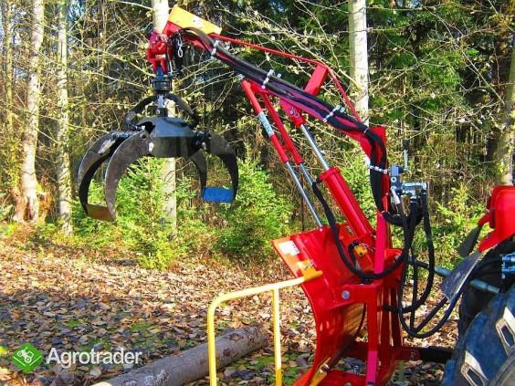 CHWYTAK ZRYWKOWO-ZAŁADOWCZY DO DREWNA DO CIĄGNIKóW min.18 hp - zdjęcie 4