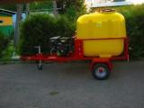 Myjka ciśnieniowa 250 BAR (15l / min ) na podwoziu jezdnym, 13 kM 400L