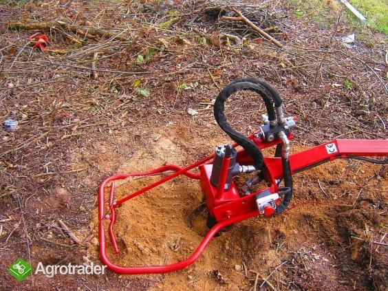 Wiertnica hydrauliczna glebowa o napędzie spalinowym 13 KM,  - zdjęcie 7