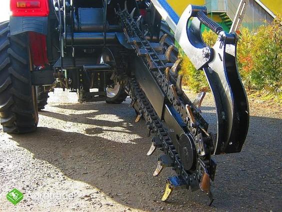 Koparka łańcuchowa napędzane z ciągnika rolniczego 160 CM - zdjęcie 1