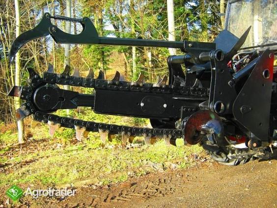 Koparka łańcuchowa napędzane z ciągnika rolniczego 120 CM - zdjęcie 5