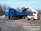 Wynajem małej wywrotki Warszawa dostawa kruszyw piasek żwir pospółka
