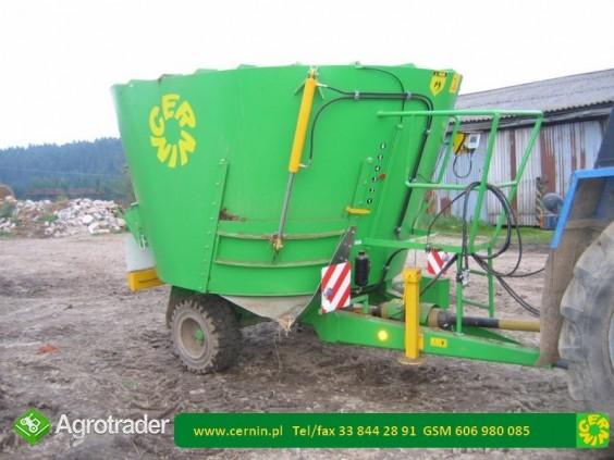 Wóz paszowy Cernin 6 m 3  - zdjęcie 3