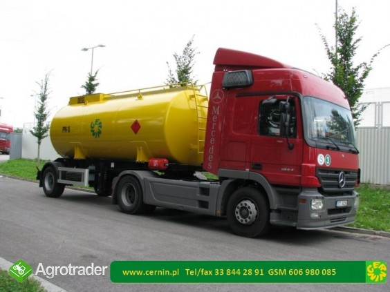 Zbiornik na paliwo na przyczepie z dystrybutorem  - zdjęcie 5