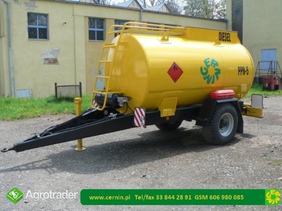 Zbiornik na paliwo na przyczepie 10000 litrów - zdjęcie 2