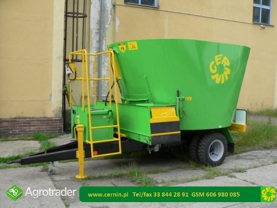 Wóz paszowy Cernin 6 m3 - wozy paszowe - zdjęcie 2