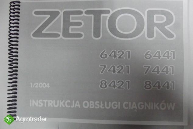 Instrukcja obsługi Zetor PROXIMA 6421,6441,7421,7441,8421,8441.
