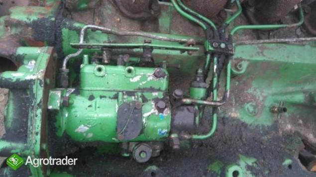 Części silnika John Deere 4 cylindrowy pompa wtryskowa,wal,głowica - zdjęcie 2