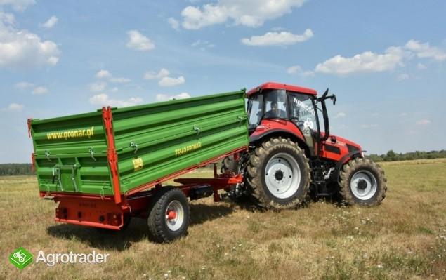 przyczepa rolnicza jednoosiowa Pronar T 654/2 - zdjęcie 2