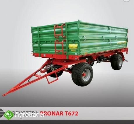 przyczepa rolnicza dwuosiowa Pronar T672