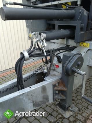 Fliegl Gigant ASW 160 przyczepa objętościowa system zsuwający 2010r.  - zdjęcie 2