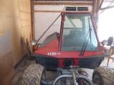 AEBI TT70S Specjalistyczny ciągnik górski + kosiarka AEBI Grass Rake