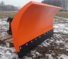 SID Pług do śniegu z lemieszem gumowym 2,0 m