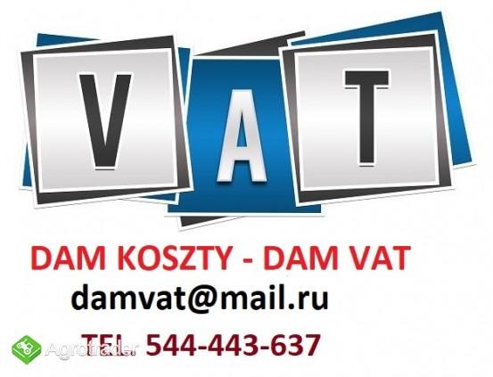 Koszty Dam/Odstąpię Koszty VAT