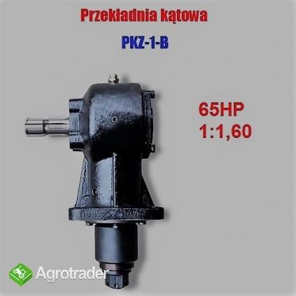 Przekładnia kątowa do kosiarek - rozdrabniaczy PKZ-1 B - 65 KM