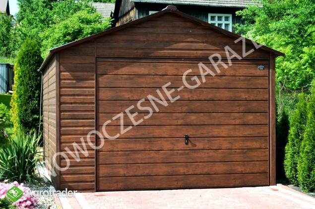 Garaż blaszany blaszak Wiata Hala Magazyn Domek Ogrodowy - zdjęcie 1