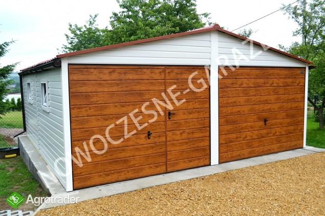 Garaż blaszany blaszak Wiata Hala Magazyn Domek Ogrodowy - zdjęcie 4