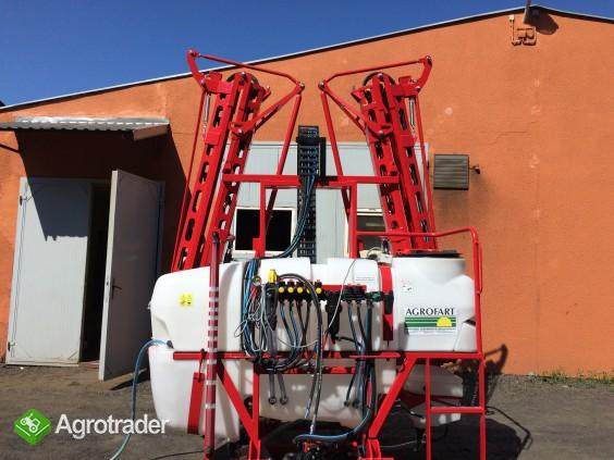 Opryskiwacz polowy zawieszany Agrofart 1000l | hydrauliczny |AF1015HzW
