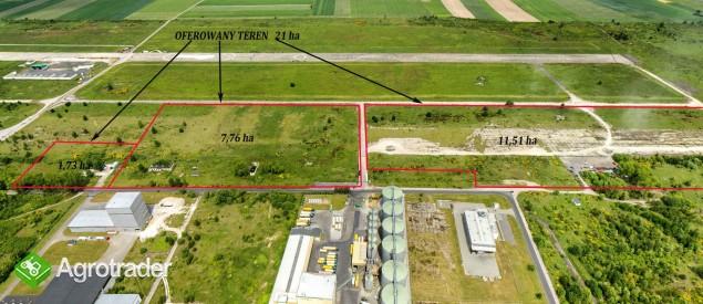 21 ha teren inwestycyjny przy A4, A18 MPZP, media, idealny dojazd   - zdjęcie 4