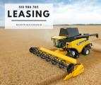 Leasingi dla rolników na maszyny rolnicze, osprzęt, urządzenia, auta i