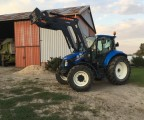 New Holland NH t5 95 KRAJOWY + ładowacz QUICKE Q46 Kutno