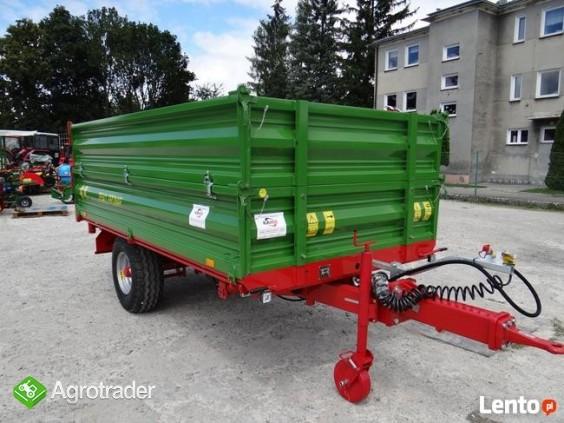 Przyczepa rolnicza 5 t jednoosiowa PRONAR T654/2 - zdjęcie 5