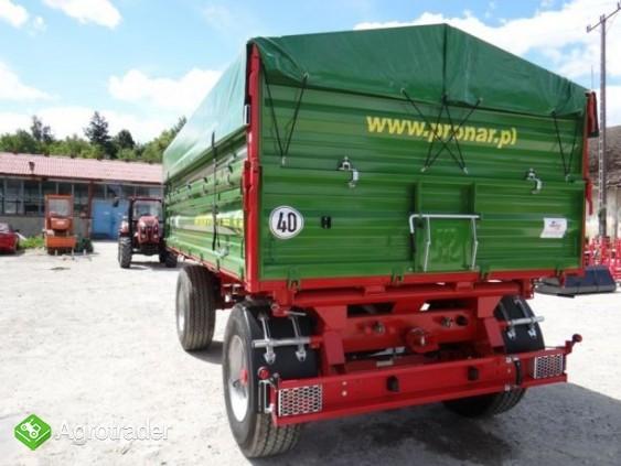 Przyczepa rolnicza 8 t paletowa PRONAR PT608 - zdjęcie 4