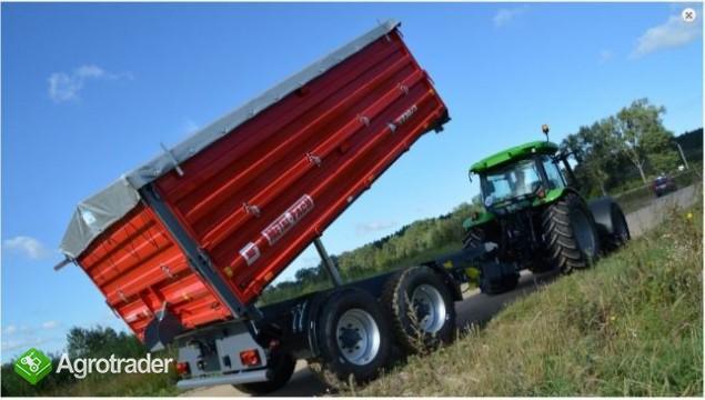 Przyczepa rolnicza Metal-Fach T730/2 – 10t - zdjęcie 1