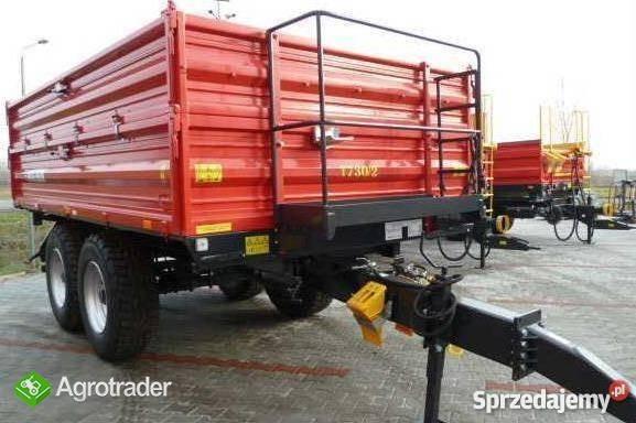 Przyczepa rolnicza Metal-Fach T730/2 – 10t - zdjęcie 2