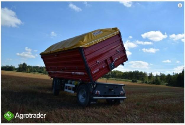 Przyczepa rolnicza Metal-Fach T711/2 – 10t - zdjęcie 2