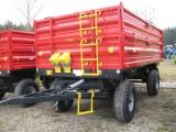 Przyczepa rolnicza Metal-Fach T710/2 – 8t