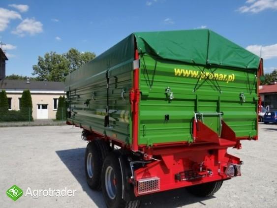 Przyczepa rolnicza tandem TRANSPORT 10T PRONAR T663/1 - zdjęcie 1