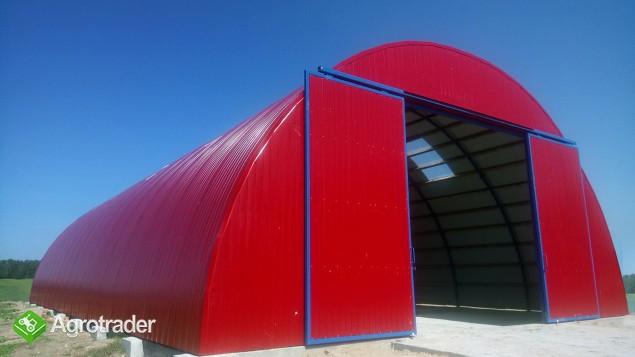 HALA łukowa tunelowa magazynowa hangar 11,8 x 25 - zdjęcie 7
