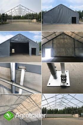 Hala namiotowa całoroczna 5×6 × 2,5m/3,41m wiata garaż solidny - zdjęcie 3