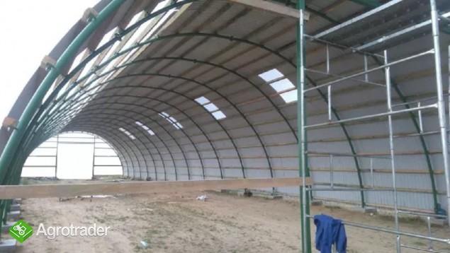 HALA tunelowa łukowa rolnicza TANIO 10,8 x 32,5 - zdjęcie 6
