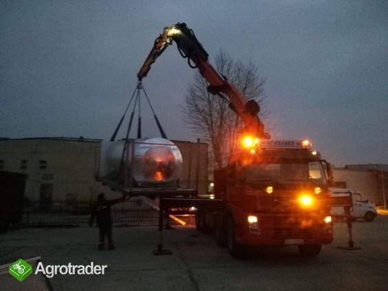 HDS 10 ton, laweta, transport, Auto Pomoc Dzik Koszalin