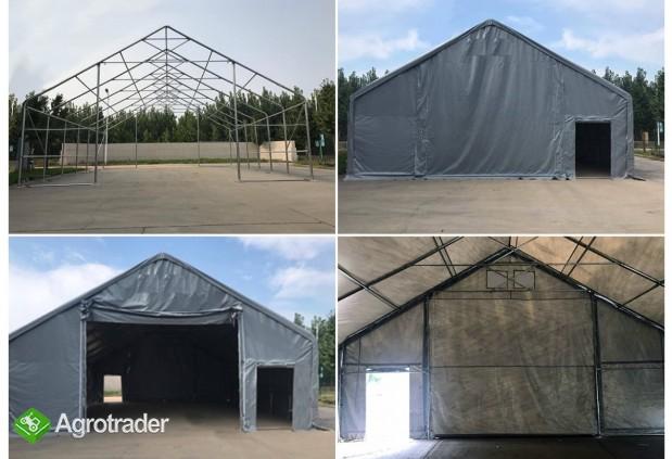 Magazyn Całoroczna Hala namiotowa 8m × 18m × 3,5m/4,96m - zdjęcie 4