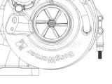 Turbosprężarka RE529978, SE501681, DZ108124, 178734 John Deere
