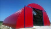HALA łukowa tunelowa magazyn garaż wiata 11,8 x 35
