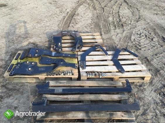 Ładowacz czołowy TUR QUICKE Q46 do NEW HOLLAND T5 CASE Steyr Massey - zdjęcie 3