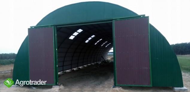 HALA łukowa tunelowa bydło obora chlew 11,8 x 30